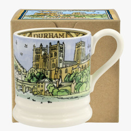Emma Bridgewater Durham pottery half pint mug boxed.