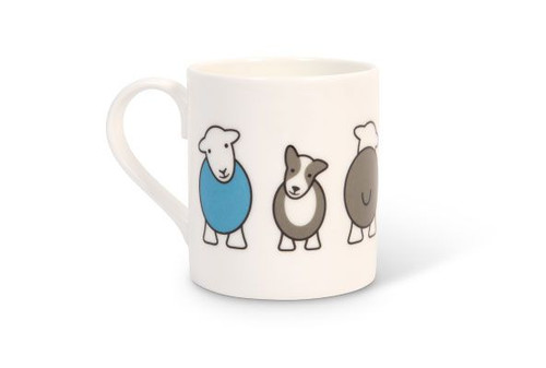 herdy special edition Herdy & Sheppy bone china mug, made in England.