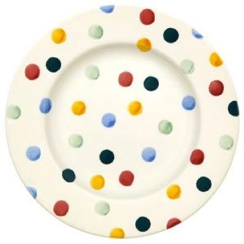 """Polka Dot 8 1/2"""" Plate"""