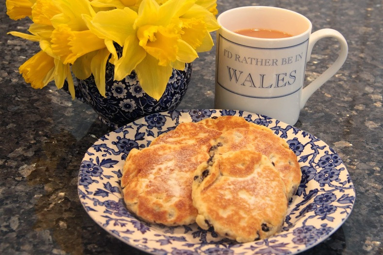 Making Welsh Cakes for St. David's Day