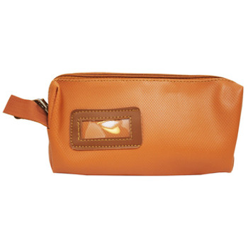 Tan Leather Look Purse