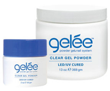 LeChat Gelee - Clear Gel Powder LED/UV 13oz