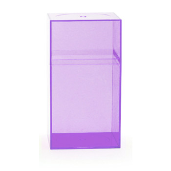 Clear Amac Boxes Lavender