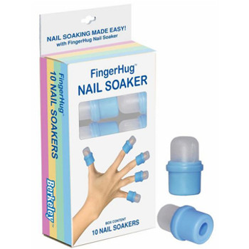 BLUE FingerHug Nail Soaker 10Pcs
