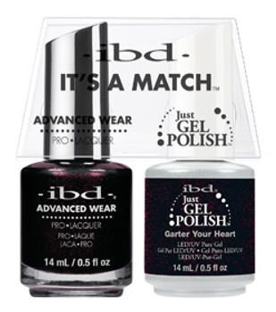 IBD-It's a Match Duos Garter Your Heart