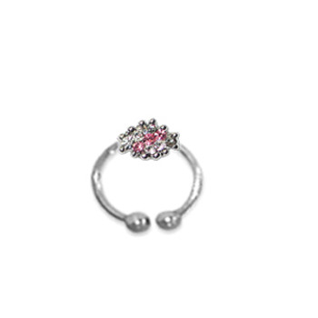 Adjustable Toe Ring (Pink)