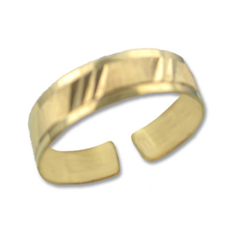 Gold Plated Toe Ring [9-344]