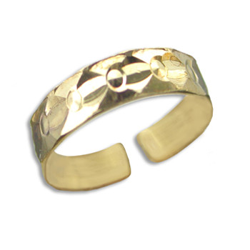 Gold Plated Toe Ring [9-339]