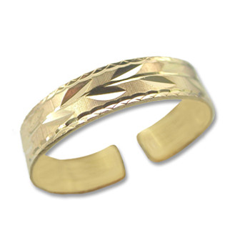 Gold Plated Toe Ring [9-345]