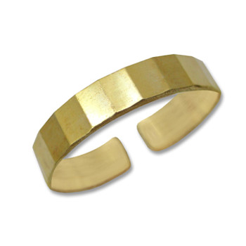 Gold Plated Toe Ring [9-311]