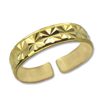 Gold Plated Toe Ring [9-341]