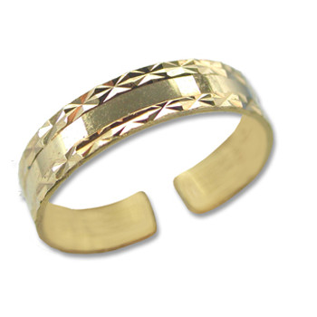 Gold Plated Toe Ring [9-346]