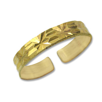Gold Plated Toe Ring [9-305]