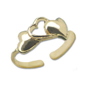 Gold Plated Toe Ring [9-325]