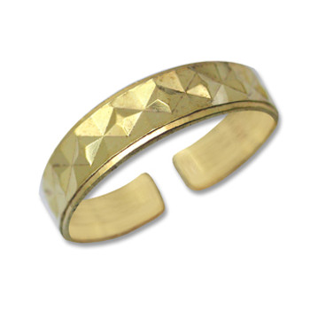 Gold Plated Toe Ring [9-320]