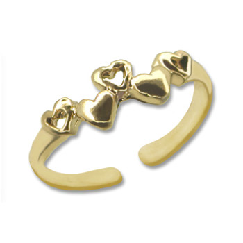 Gold Plated Toe Ring [9-328]