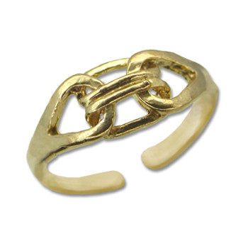 Gold Plated Toe Ring [9-323]