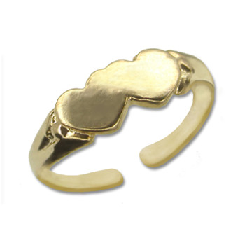 Gold Plated Toe Ring [9-326]