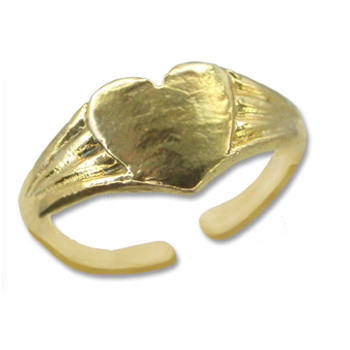 Gold Plated Toe Ring [9-330]
