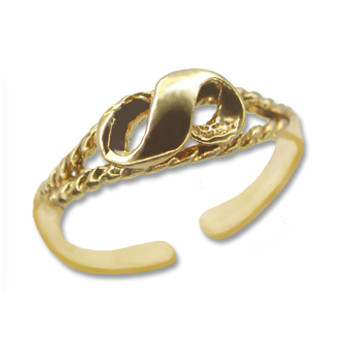 Gold Plated Toe Ring [9-329]