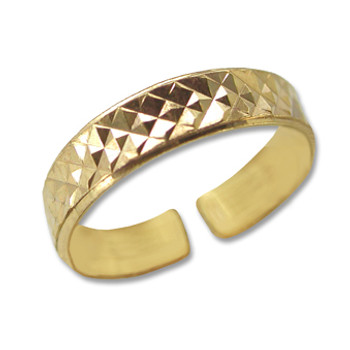 Gold Plated Toe Ring [9-337]