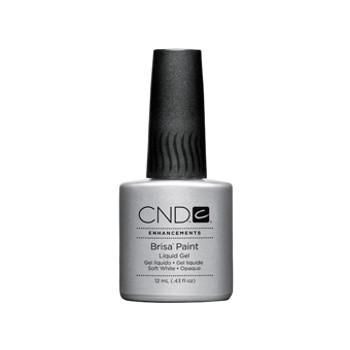 CND Brisa - Soft White Paint Gel (Opaque) 0.43oz