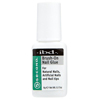 IBD 5 Second Brush-On Nail Glue 6 g