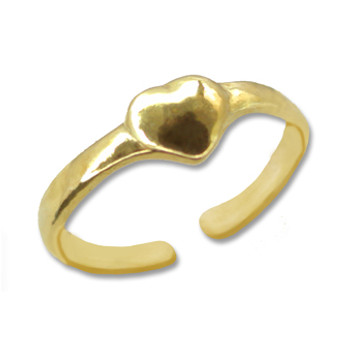 Gold Plated Toe Ring [9-334]