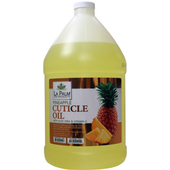 La Palm - Cuticle Oil Pineapple 1 Gallon