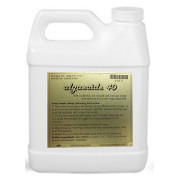 Algaecide 40 Spa Cleaning 32oz.
