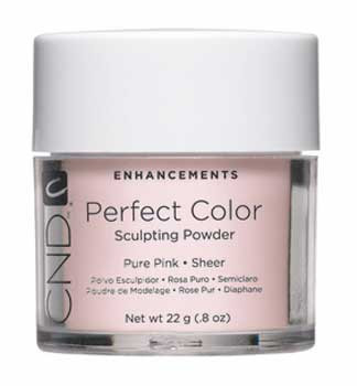CND-Perfect Color Powder Pure Pink 0.8oz. (22g)