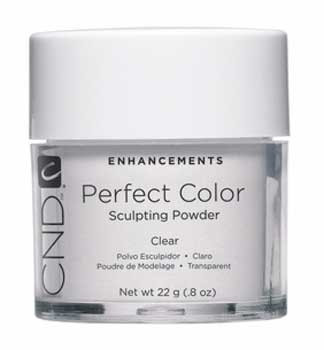 CND-Perfect Color Sculpting Powder Clear  0.8oz. (22g)
