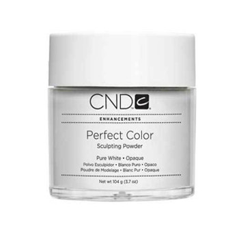 CND-Perfect Color Powder Pure White  3.7oz. (104g)
