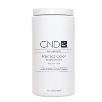 CND-Perfect Color Powder Natural - Sheer 32oz.