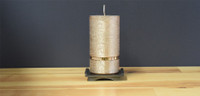 Copper Dripless Pillar Candle
