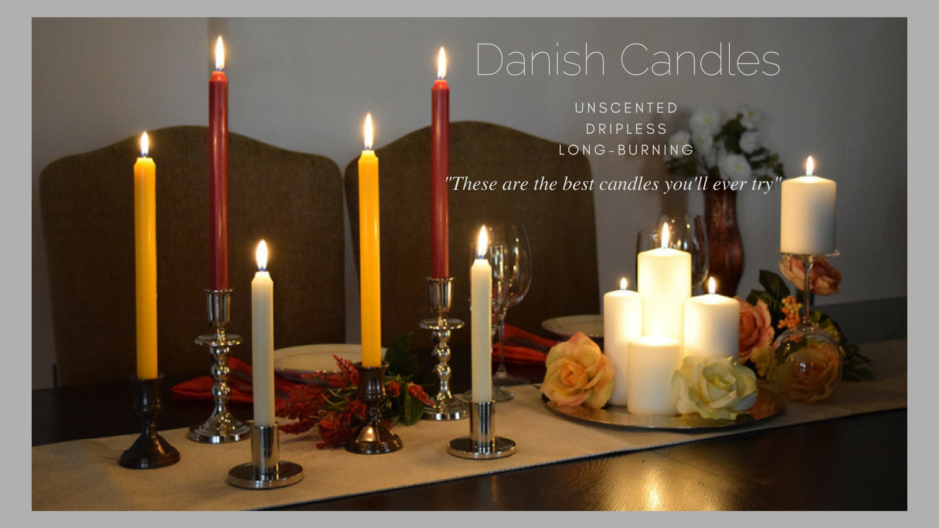 Jande candles your online candle store for Candele on line