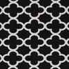 Gift Wrap - Cloverleaf - Black