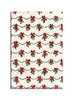 Gift Wrap - Garland - White/Green/Red