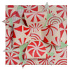 Paper Double Bow Topper - Cream/Mint