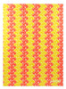 Gift Wrap - Lemons and Oranges - Cream/Metallic Yellow and Orange