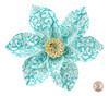 Paper Daisy Topper - Ladybug Blue