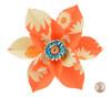 Paper Daisy Topper - Orange