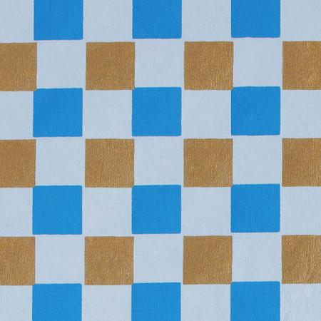 Gift Wrap - Blocks- Blue