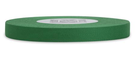 Custom Printing on Herringbone Ribbon - Green Leaf
