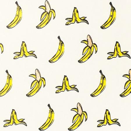Banana – Cream/Yellow/Gold & Black Metallic