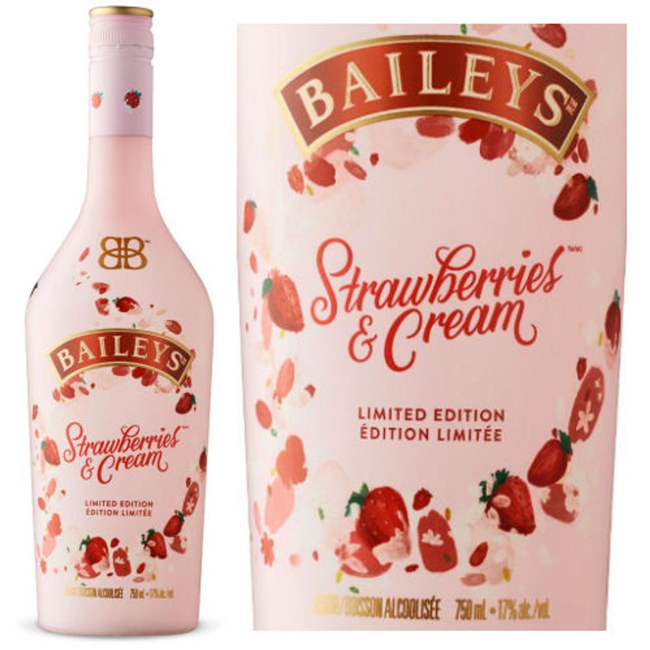 Baileys Irish Cream Strawberries & Cream Liqueur 750ml