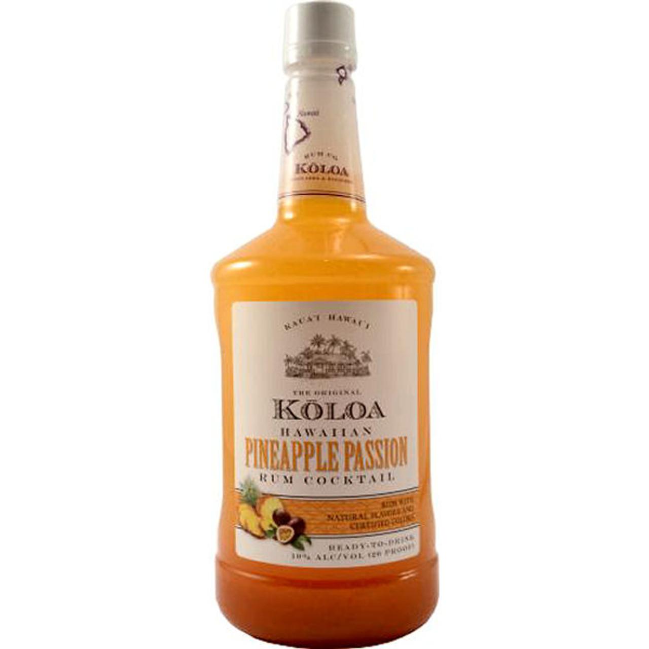 Koloa Hawaiian Pineapple Passion Rum Cocktail 1.75L