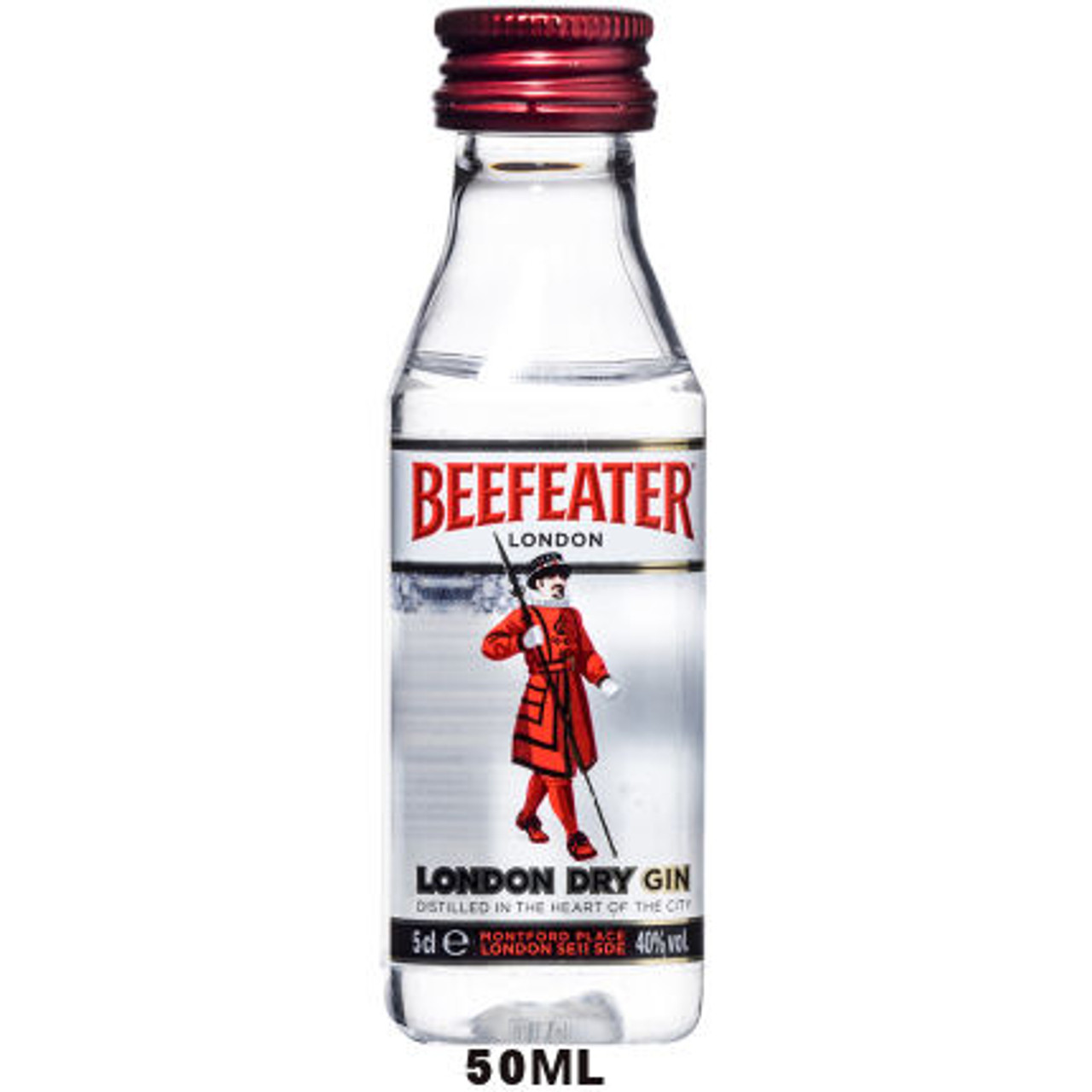 50ml Mini Beefeater London Dry England Gin