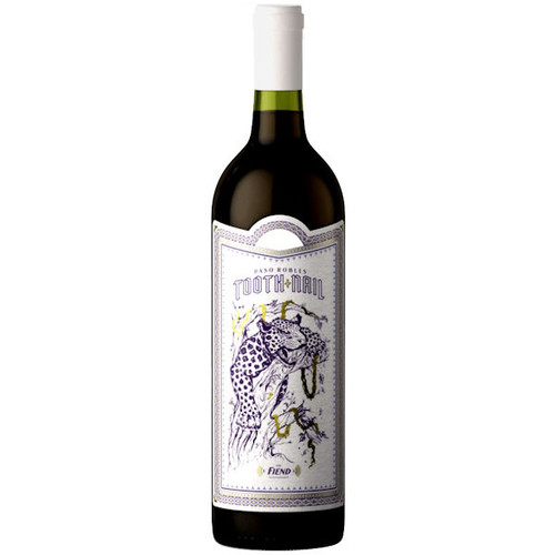 Tooth and Nail The Fiend Paso Robles Red Blend