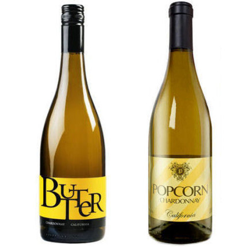 JaM Cellars BUTTER California Chardonnay and Popcorn California Chardonnay